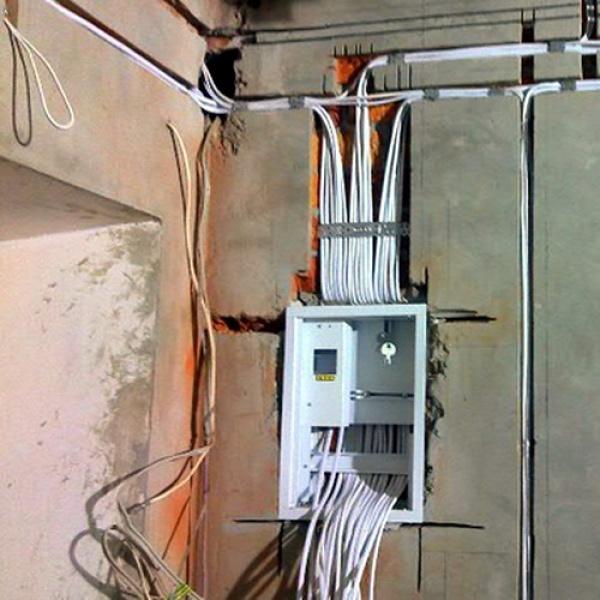 Примеры электромонтажа