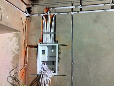 Электромонтаж в панельном доме