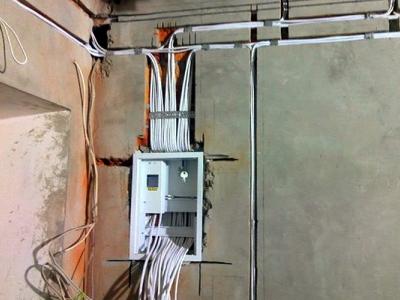 Электромонтаж на даче