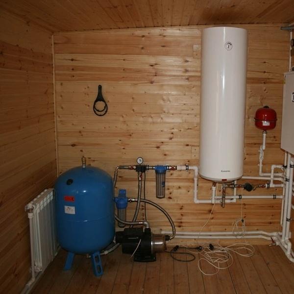 Примеры установки отопления