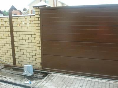Ремонт электрических ворот